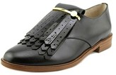 Louise et Cie Lo-tamare Women Round Toe Leather Black Oxford.