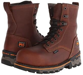 Timberland 8 Boondock Comp Toe WP (Brown) Men's Work Boots