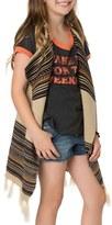 O'Neill Girl's Fireside Fringe Knit Vest