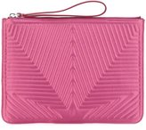 Golden Goose Deluxe Brand satin stitched star clutch - women - Polyester - One Size