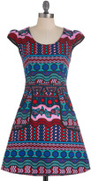 Westward Journey Dress in Kaleidoscope