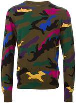 Valentino camouflage sweater
