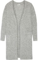 Acne Studios Raya Oversized Knitted Cardigan - Gray