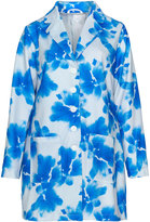 Studio Plus Size Printed jersey coat