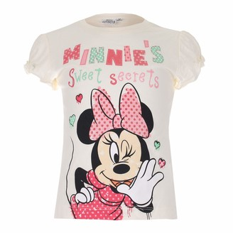 Disney Girl's Minnie Sweet Secrets T-Shirt