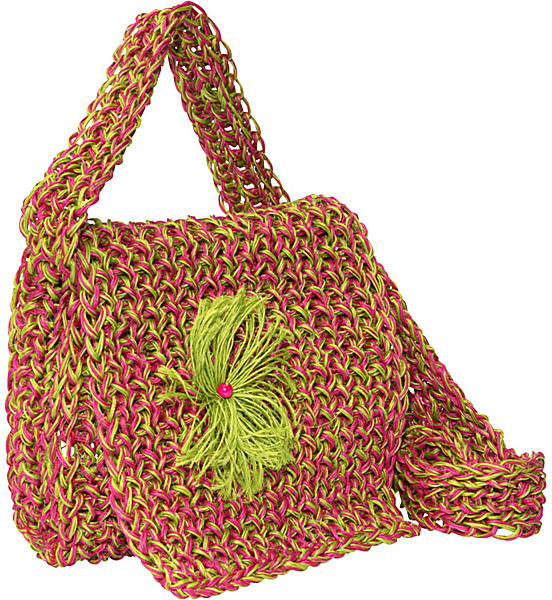 Global Elements Sisal Carry-all Shoulder Bag
