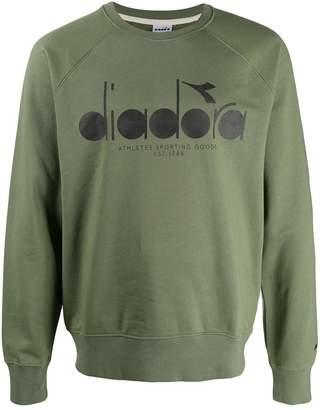 Diadora logo print sweatshirt