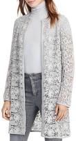 Lauren Ralph Lauren Suede Trim Lace Jacket