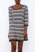 Angie Knit Stripe Dress