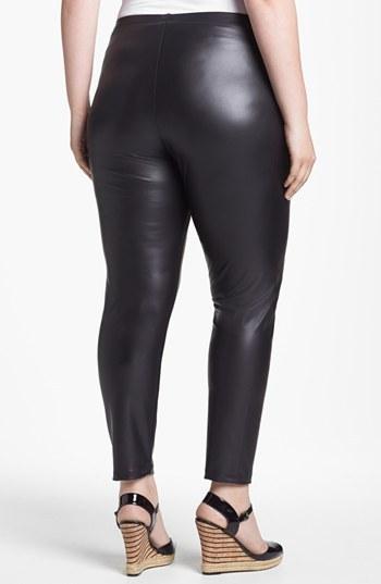 Mimichica Mimi Chica Faux Leather Leggings (Juniors Plus)
