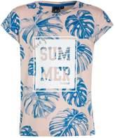 Hummel FILIPPA Print Tshirt peach wip