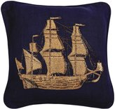 Jonathan Adler Aquatica Ship Pillow