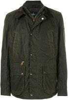 Hackett waxed distressed jacket