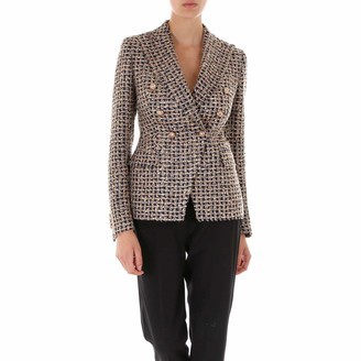 Tagliatore Double Breasted Tweed Blazer