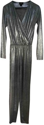 Monki Silver Jumpsuit for Women