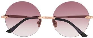Anna Karin Karlsson Crystal Nest embellished sunglasses