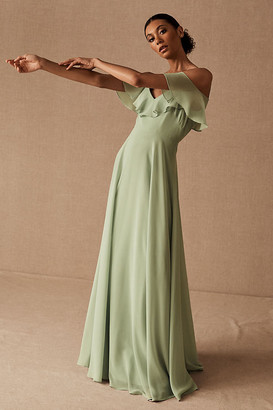 Jenny Yoo Mila Convertible Dress By in Green Size 2