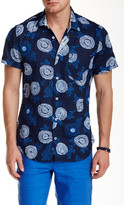 Ganesh Short Sleeve Printed Slim Fit Shirt