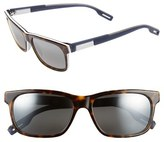 Maui Jim Women's 'Eh Brah' 55Mm Polarized Sunglasses - Gloss Black/ Neutral Grey
