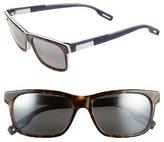 Maui Jim Women's Eh Brah 55Mm Polarizedplus2 Sunglasses - Light Charcoal/ Maui Ht