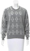 Alexander Wang Argyle Crew neck Sweater