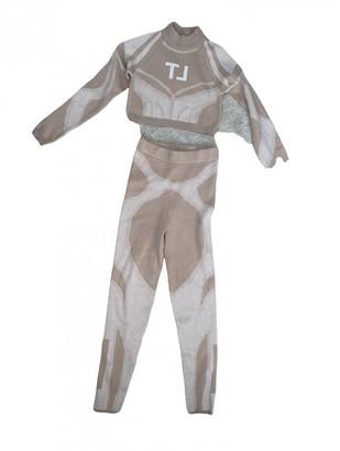 Misbhv Beige Polyester Jumpsuits