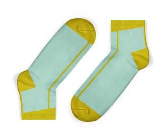 Unisock Mustard Stripe Ankle Socks