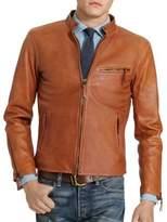 Polo Ralph Lauren Leather Racer Jacket