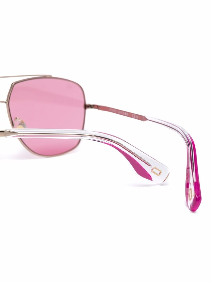 Thumbnail for your product : Marc Jacobs Pilot geometric sunglasses