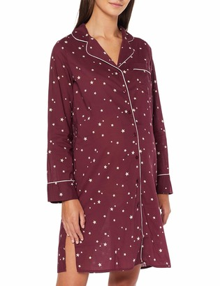 Mama Licious Mamalicious Women's Mljette Lia L/s Woven Nightshirt Nf A Maternity Nightie