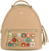 Fendi studded backpack - women - Calf Leather/Metal (Other) - One Size