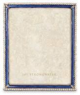 "Jay Strongwater Laetitia Enamel & Stone Edge 8"" x 10"" Frame"
