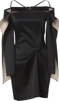 Roland Mouret Meestead Satin Mini Dress
