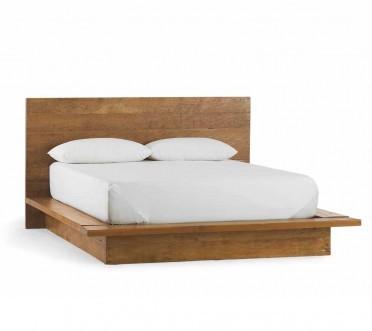 Viva Terra Vintage Fir Platform Bed