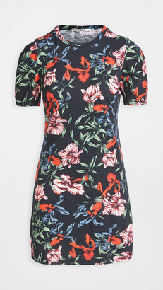 Pam & Gela Bali Hai Puff Short Sleeve Dress