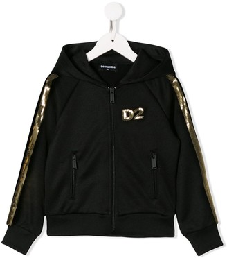 DSQUARED2 Sequin-Embellished Track Jacket