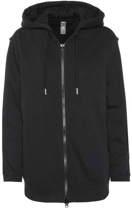 adidas by Stella McCartney Cotton-blend hoodie