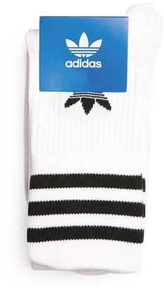 adidas Mid-Cut Crew Socks (Pack Of 3)