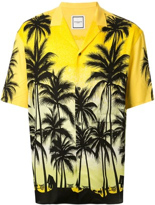 Wooyoungmi Tropical-Print Short Sleeved Shirt