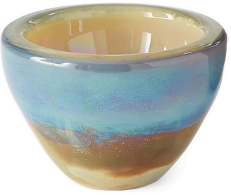 "Global Views 8"" Mesa Decorative Bowl - Blue/Copper"