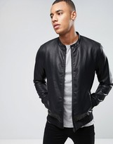 ONLY & SONS Faux Leather Bomber