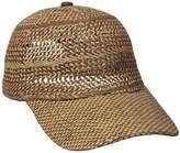 Echo Women's Hand Woven Baseball Beach Cap