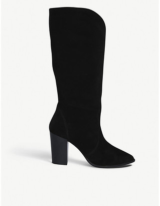 Carvela Sheer high leg faux-suede knee-high boots
