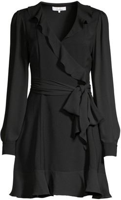Parker Cadance Ruffled Wrap Dress