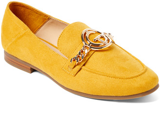 Tahari Girl Women's Loafers YELLOW - Mustard Zeva Loafer - Women