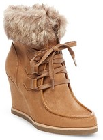 Women's Jaden Wedge Lace Up Boots - Merona