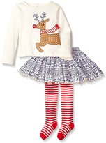 Mud Pie Toddler Girl Holiday Two Piece Playwear Set