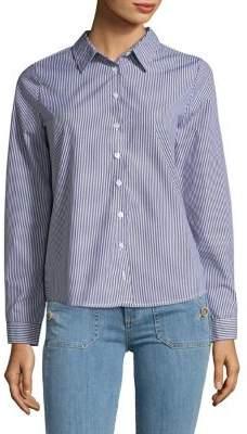 Design Lab Stripe Button-Down Shirt