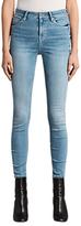 AllSaints Eve Lux Skinny Jeans, Fresh Blue