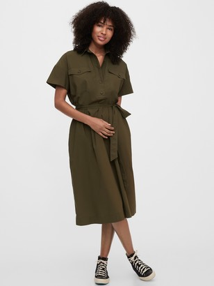 Gap Utility Shirtdress